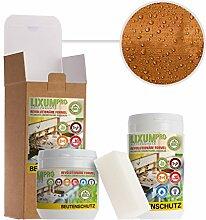 LIXUM BIENEN BEUTENSCHUTZ LASUR BIO (orange) 100 ml = 1 Beute (3m²) natürlicher Holzschutz - von Imkern empfohlen! Bienenverträglich, biologisch, ökologisches, rein natürlich (laborgeprüft).