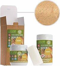 LIXUM ESCHEN HOLZSCHUTZ BIO (farblos) 500ml = 15m²- natürlicher Langzeitschutz für Holz, hält bis zu 10 Jahren, nur 1 Anstrich nötig. Mit integriertem UV-Schutz und ohne Weichmacher.