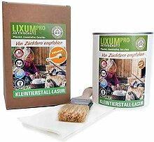 Lixum PRO Kleintierstall Lasur, Farbe:Lachsrot,