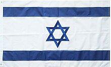 Lixure Israel Flagge/Fahne Top Qualität Stickerei