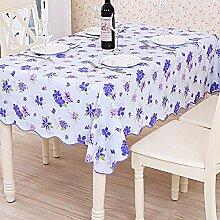 LIYAN Tischdecke Aus PVC Plaid Tischwäsche