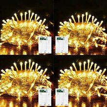 LiyuanQ LED-Lichterkette, batteriebetrieben, mit