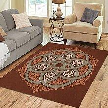 Liz Carter 36X24 inch Bereich Teppich keltische