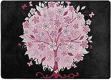 Liz Carter 36X24inch Bonsai-Baum mit Blumen,