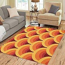 Liz Carter 63X48 inch Bereich Teppich Muster