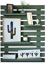 LIZA LINE Dekoratives Holz Wandregal,