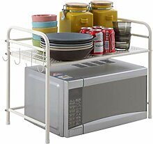 LIZANAN Mikrowelle Regal Mikrowelle Küche Storage