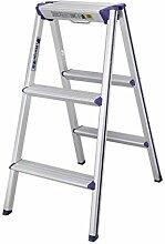 LIZITD Bockleiter - 2/3 Stufen faltbar verdicken