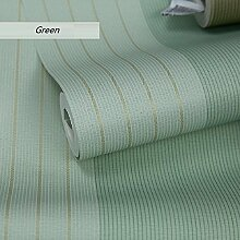LJ&L Moderne minimalistischen Stil Vlies Tapete - Schlafzimmer Wohnzimmer TV Hintergrund Wandfarbe gestreift Muster von umweltfreundlichen Tapeten,A6,1 roll