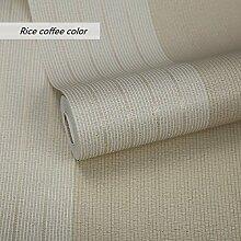 LJ&L Moderne minimalistischen Stil Vlies Tapete - Schlafzimmer Wohnzimmer TV Hintergrund Wandfarbe gestreift Muster von umweltfreundlichen Tapeten,A5,1 roll