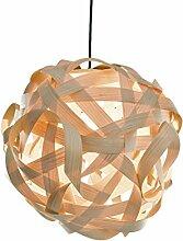 LJ Lamps sigma – moderne Pendelleuchte aus Holz