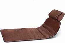 LJ Multifunktions-Ganzkörper-Heizung-Massage-Matte, Hyperthermie-Massagegerät, Brown, 178 * 62cm