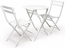 LJ Stuhl klappbarer Gartentisch und Stuhl,