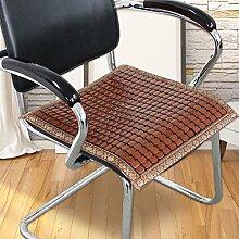 LJ&XJ Bambus Seat sitzkissen, Anti-Rutsch Seat