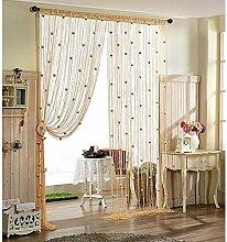 LJ&XJ Rose Farbe Tür Vorhang, Dekoration