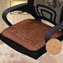 LJ&XJ Sommer Office Seat sitzkissen, Anti-rutsch Atmungsaktive Sofa Cool Esszimmer stühle-pads, Rattan Sitzkissen, Student hocker Bank Indoor Outdoor-B 45x45cm(18x18inch)