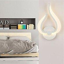 LJA Licht, Wandlampe Led Wand Schlafzimmer Nacht