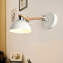 LJA Licht, Wandlampe, weißes Holz, japanischer