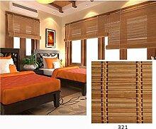 LJA Outdoor Bambus-Halbschatten-Vorhang