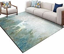 LJF RUG Teppich, Circular Circle Sofa Teetisch