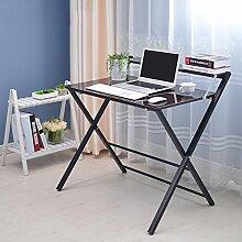 LJHA Klapptisch Tisch kleiner Tisch Bett mit Laptop Schreibtisch 4 Farben erhältlich Größe optional Tabelle ( Farbe : D )