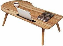 LJHA Laptop-Schreibtisch, Bett mit Studiertisch,