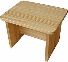 LJHA Schuh-Schuh Massivholz-Kinderbank Kleiner Kiefernhocker 30 * 22cm Tabelle
