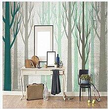 LJIEI Tapete Waldbäume Tapete Mit Modernes
