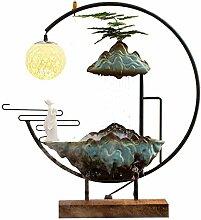 LJJChinesische Art fließendes Wasser Ornamente,