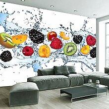 Ljjljj Benutzerdefinierte Frisches Obst Fototapete