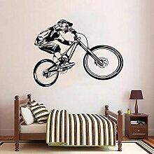 ljjljjÜppige Fahrrad Wandaufkleber Wohnkultur
