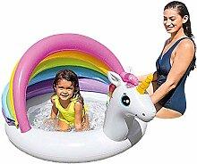 Ljourneey Aufblasbares Planschbecken, Baby Pool