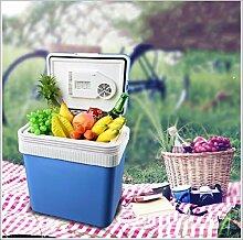 LJQ Tragbare Kühlschrank 24L Mini Kühler
