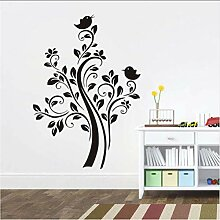 Ljtao Natur Pflanze Baum Wandaufkleber Für