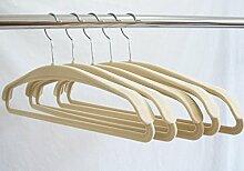 LJYM Aufhänger 10 Stück/Kleiderbügel Beflockung