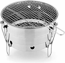 LJYMM Barbecue Grill, Tragbare Holzkohle