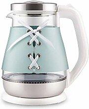 LJYY 1,5 l Glas-Wasserkocher, Öko-Wasserkocher,