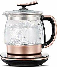 LJYY 2L Glas-Wasserkocher, Akku-Teekanne,