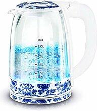 LJYY 2L Glas-Wasserkocher, Öko-Wasserkocher,