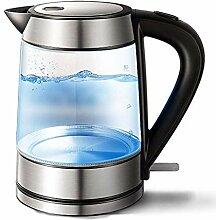 LJYY Glas-Wasserkocher, 1,7 l Öko-Wasserkocher,