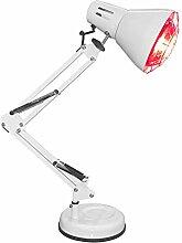 LK-HOME Rotlichtlampe, Wärmetherapie-stehlampe,