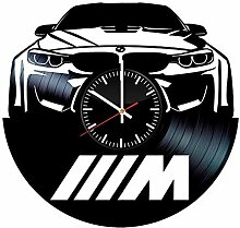 LKCAK Vinyl Clock BMW - Schallplatten Wandkunst
