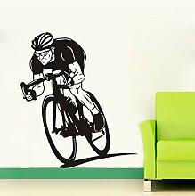 Lkfqjd Fahrrad Wandkunst Aufkleber Aufkleber