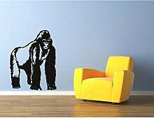 Lkfqjd Gorilla Silberrücken Affe Affe Tiere Vinyl