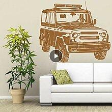 Lkfqjd Russische AutoWandtattoo Garage Vinyl