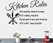 LKNS Wandaufkleber Hohe Qualität Entfernen Küche