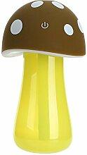 LKOUS Startseite Aroma LED Luftbefeuchter Pilz Air Diffusor Luftreiniger Atomizer,USB Luftbefeuchter