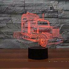 LKW 3D Licht LED Acryl Visual Creative Illusion 3D
