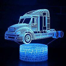 Lkw Lampe 3D LED Illusion Visuelle Nachtlicht 7