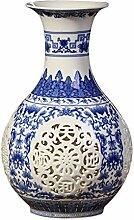 LKXHarleya Chinesische Hohlen Vase